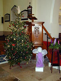Photograph of St Helen's Christmas Tree 2017