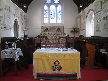 Photograph of St Helen's Family Eucharist Nave Altar