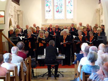 Photograph of Phoenix Choir Concert to launch St Helen's Tricentenary Appeal 1 June 2017 - 1