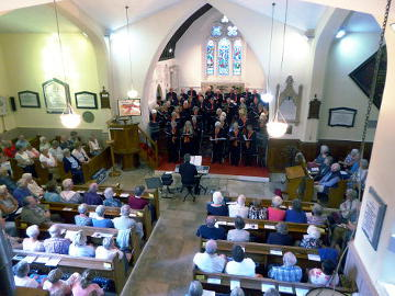 Photograph of Phoenix Choir Concert to launch St Helen's Tricentenary Appeal 1 June 2017 - 2