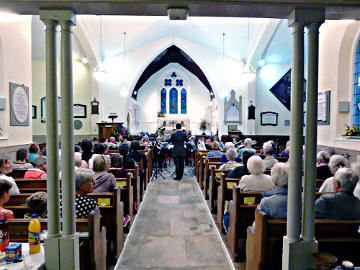 Photograph of Vectis Brass Harvest Concert at St Helen's 24 September 2016 - 2