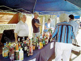 Photograph of  St Helen's Church Bottle Tombola at Seaview Fayre 7 May 2018
