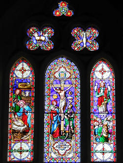 Photograph of St Helen's East Window