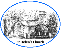 Drawing of St Helen's Church