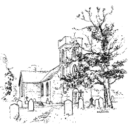 Drawing of St Helen's
