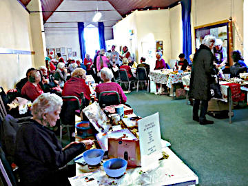 Photograph of St Peter's Coffee Morning 22 December 2018