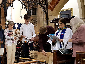 Photograph of St Peter's Pet Service 19 August 2018