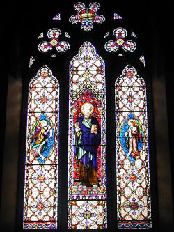 Photograph of St Peter's East Window