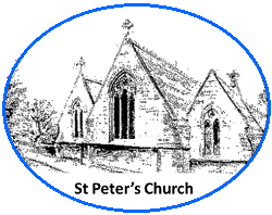 Drawing of St Peter's Church