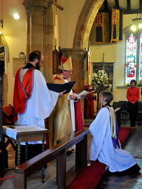 Photograph of he Licensing of the Revd Alison Morley 15 April 2018 - 3