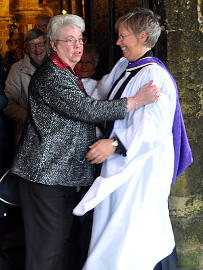 Photograph of he Licensing of the Revd Alison Morley 15 April 2018 - 5