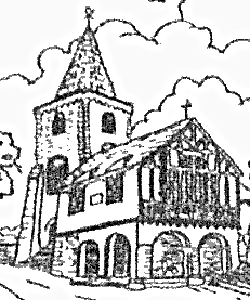 Image taken from Tapestry of St Mary the Virgin, Brading and historic former Town Hall