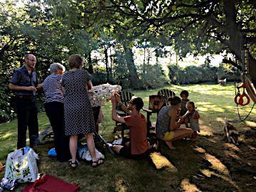 Photograph of St Helen's Eco-Church Gathering August 2019 -1