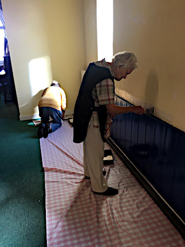 Redecoration of St Peter's Hall October 2019 - 1