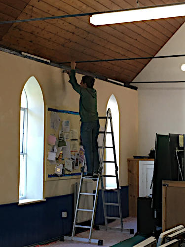 Redecoration of St Peter's Hall October 2019 - 3