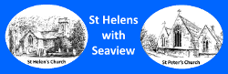 The Logo of St Helens with Seaview