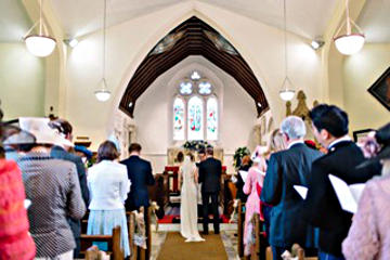 Photograph of St Helen's Wedding