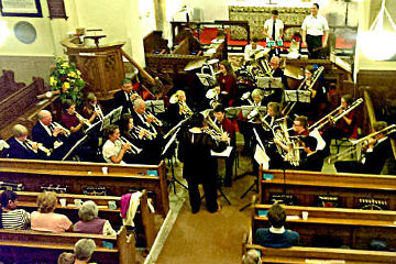 Photograph of St Helen's Vecgtis Brass Concert