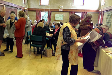 Photograph of St Helen's Coffee Morning in Community Centre