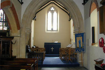 Photograph of St Peter's Lady Chapel