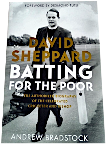 Photograph of Biography of David Sheppard by Andrew Bradstock