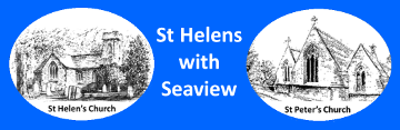 Graphic of St Helens with Seaview Logo