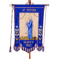 St Peter's Mothers' Union Banner