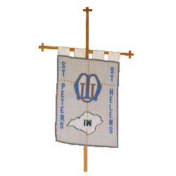 St Peter's and St Helen's Mothers' Union Banner