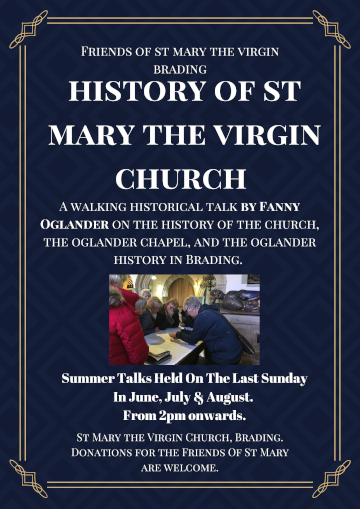 Poster for St Mary Walking Talks