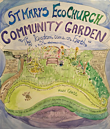 Image of Community Garden Poster