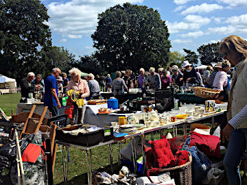 Photograph during St Peter's Church Fete 15 August 2019