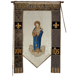 Photograph of St Peter's Seaview Banner
