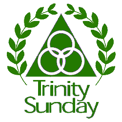 Graphic of Trinity Sunday